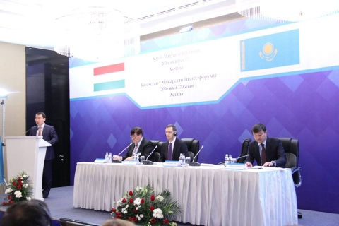 Press Center>Association news  Association news Astana held Kazakh-Hungarian business forum jointly with the 5th meeting of the Business Council.