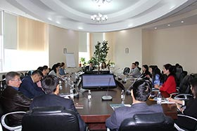 """The first meeting of press secretaries and PR service employees of the companies–members of the Association"" was held at KAZENERGY."