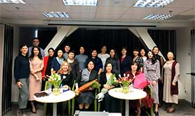 "On March 11 of the current year, the Chevron company office in Almaty hosted a discussion session ""Leadership. Career. Success"""
